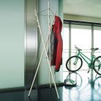 コートハンガー スリム 60cm 木製 ナチュラル おしゃれ ポールハンガー おしゃれ 玄関 DU0060 AIR DUENDE デュエンデ