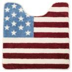トイレマット アメリカン 星条旗 国旗 トイレ用品 おしゃれ かわいい FL-9967 Roll Sign