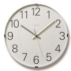 シンプルな掛け時計 壁掛け時計 スイープムーブメント アナログ時計 Tom clock トムクロック T1-0104 Lemnos レムノス
