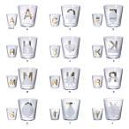 タンブラー ガラス コップ カップ 日本製 アルファベット おしゃれ DICTIONARY タンブラー