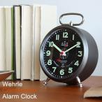 目覚まし時計 おしゃれ ミッドセンチュリー シンプル ジェネリック製品 コマンダー WEHRLE COMMANDER ALARM CLOCK