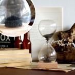 砂時計 砂鉄 時計 インテリア サンドグラス 1分 MAGNETIC HOURGLASS マグネティックアワーグラス