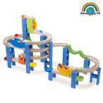 ピタゴラスイッチ風 おもちゃ 子ども 3歳 知育玩具 積み木 ボール転がし装置 TYWW7014 Trix Trackスパイラルコースター