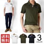 ポロシャツ メンズ 送料無料 ミリタリー カノコ ワッペン 通販M《M1.5》