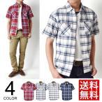 ショッピングコットン 送料無料 コットンリネンシャツ メンズ 半袖 シャツ 綿麻 通販M《M1.5》