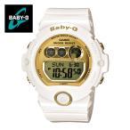 【安心二年保証】 カシオ ベビージー BG-6901-7 三つ目 ホワイト×ゴールド 腕時計 白色 金色 スポーツウォッチ 防水 軽量
