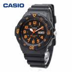 CASIO カシオ MRW-200H-4BV ブラック・オレンジ ダイバールック シンプル スタンダード アナログ ウォッチ