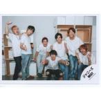 ジャニーズWEST 集合 公式生写真/WESTival・衣装白・カメラ目線・藤井中間ピース