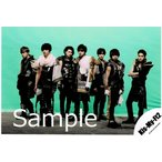 Kis-My-Ft2/キスマイ 集合 公式生写真/MUSIC COLOSSEUM・目線若干左・背景黄緑