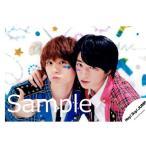 知念侑李&伊野尾慧(Hey!Say!JUMP) 公式生写真/JUMPing CARnival・カメラ目線・衣装青、ピンク