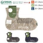 (ラソックス) rasox 靴下 ソックス クールメッシュ ミッド レディース メンズ (CA141LC01) 2016 秋冬
