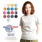 グッドオン Good On Tシャツ 半袖 カラー カットソー レディース GOST701
