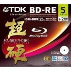 ★BEV25HCPWA5A(4906933601887)TDK 2倍速対応BD-RE 5枚パック 25GB ホワイトプリンタブル超硬