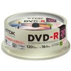 ★DR120DPWC20PUE(4906933604444)TDK 録画用DVD-R デジタル放送録画対応(CPRM) 1-16倍速 インクジェットプリンタ対応(ホワイト・ワイド