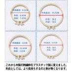 刺繍枠 刺しゅう枠 竹製 クロスステッチツール 刺繍フープセット 刺繍ツール 円形 送料無料