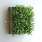 人工観葉植物の壁掛け リーフアートパネル ウォールグリーン 1B ホワイト