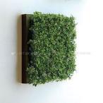人工観葉植物の壁掛け リーフアートパネル ウォールグリーン 1C ブラウン