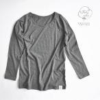 Yahoo!Fabric Plusオーガニックコットンガーゼトップス 長袖Tシャツ 10分袖