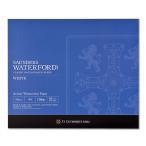 ウォーターフォード水彩紙 ホワイト ブロック EHB-F8 [スケッチブック]