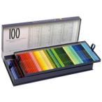 ショッピング色 ホルベイン アーチスト色鉛筆100色セット(基本色)紙箱入り