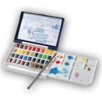 ホルベイン 固形水彩絵具 アーチスト パンカラー 36色セット(樹脂ケース) PN698