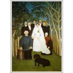 【送料無料】絵画:アンリ・ルソー「婚礼」●サイズF10(53.0×45.5cm)●絵画(油絵複製画)オーダーメイド制作