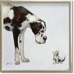 絵画 油絵 オイルペイントアート・ベストフレンドM 現代アート インテリア