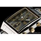 セイコー米国PULSAR逆輸入パルサー角型クロノグラフ腕時計