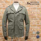 春夏 BOTTEGA MARTINESE M-65風ブルゾン 綿ヘリンボーン織 イタリア製 アメカジ サーフ フィールドジャケット 30代 40代 メンズ洋服 カジュアルウェア