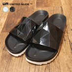 UNITED NUDE サンダル Lo Res Earth Mens ラバー 多角形 プリズム模様 ベナッシ スリッパ 靴シューズ メンズ ユナイテッドヌード アヴァンギャルド