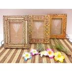 ウッドペイント フォトフレーム 写真立て    家具、インテリア  フォトフレーム、写真立て  木製 アジアン雑貨