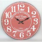 ギークルジャパン 壁掛け時計 ラウンド ウォールクロック オールドタウン MJH0470