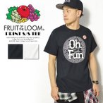半袖Tシャツ FRUIT OF THE LOOM  PRINT S/S TEE