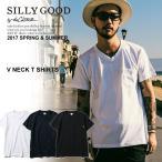 シリーグッド Tシャツ SILLY GOOD by the CRIMIE クライミー V NECK T SHIRTS