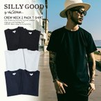 SILLY GOOD by the CRIMIE  Tシャツ CREW NECK 2PACK T-SHIRT 2017 2枚パック