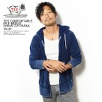 エンドレスサマー パーカー The Endless Summer TES COMFORTABLE PILE INDIGO SHAVE ZIP PK