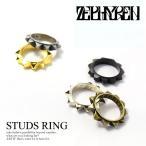 ゼファレン 指輪 ZEPHYREN STUDS METAL RING メール便可