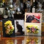 Yahoo!ARTLOCK アートロックペット メモリアル フォトフレーム  写真立て 花 プリザーブドフラワー 思い出 名入れ 送料無料