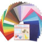 [ ゆうパケット可 ]  超薄おりがみソフト 20色 40枚組 【 作品 折紙 折り紙 製作 】