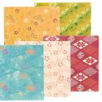 喜多方の染型紙 会津型 折り紙 30枚 わがみ 裏面白 【 工作 折り紙 おりがみ 柄 和風 】