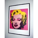 ����ǥ����������ۥ롡�ޥ�����(�ۥåȡ��ԥ�)�����եݥ����� Andy Warhol:Marilyn Monroe (Marilyn), 1967 (hot pink)