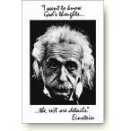アインシュタインポスター 神の考え