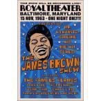 ▼ジェームス・ブラウンポスター/ボルティモア、1963年