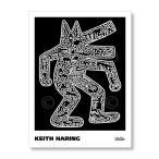 キース・ヘリング Keith Haring: Dog, 1985 【アートポスター】