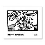キース・ヘリング Keith Haring: Untitled, 1982 (dogs with UFOs) 【アートポスター】