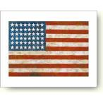 ジャスパー・ジョーンズ 旗, 1954-55年 【アートポスター】