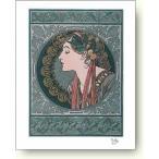 リトグラフ アルフォンス・ミュシャ  Alphonse Mucha: Laurier, 1901 (litho)