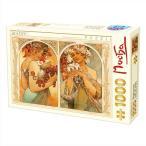 ジグソーパズル・D-Toys・66930-MU06 Alphonse Mucha : Fruit Flower 1000 ピース  47×68 cm