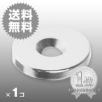 小さくても 超強力 磁石 1個 丸型皿穴付きネオジウム磁石 マグネット  25mm×4mm ネジ6mm鳩よけ DIY