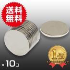 小さく薄い 超強力 磁石 10個セット 円柱形 ネオジウム磁石 マグネット 10mm×1mm 鳩よけ DIY
